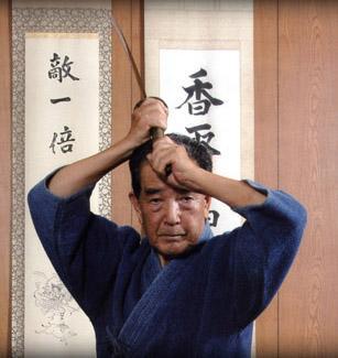 Shihan Risuke Otake, Tenshin Shoden Katori Shinto Ryu