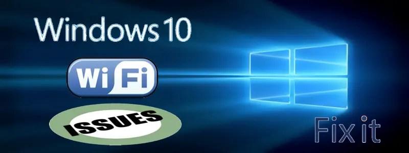 Исправить проблемы с Wi-Fi в Windows 10