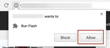 Разрешить Flash в Chrome для определенного сайта