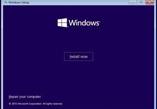 Установить Windows 10