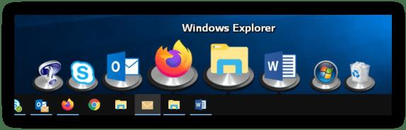 ObjectDock в ноутбуке с Windows 10