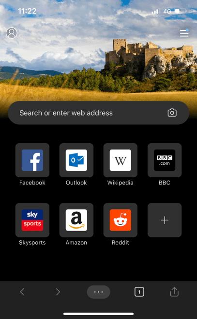 Приложение Edge для iPhone