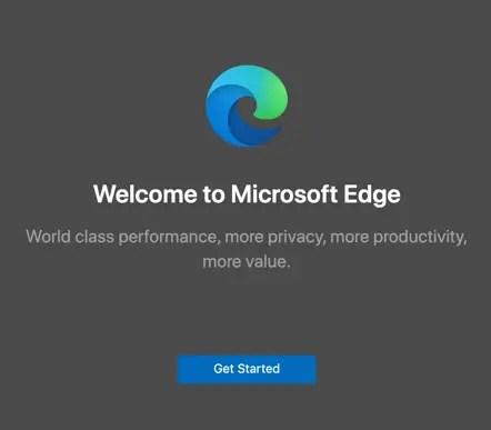 Добро пожаловать на страницу Edge