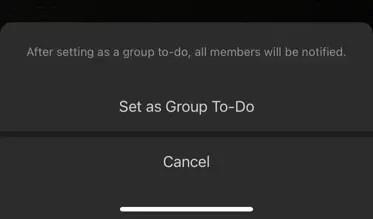 Установить группу для выполнения