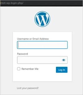Измененный URL