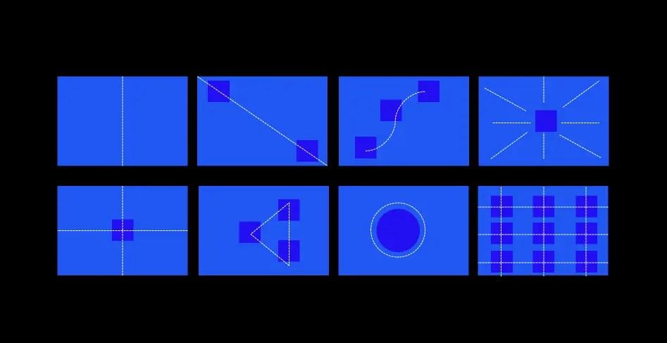 Направление и узор слайда