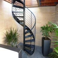 Chinese Wrought Iron Spiral Stairs Outdoor Spiral Staircase | Used Spiral Staircase For Sale | Vertical | Exterior | Contemporary | Wrought Iron | Curved