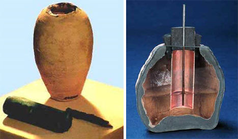 Resultado de imagen de batería de Bagdad