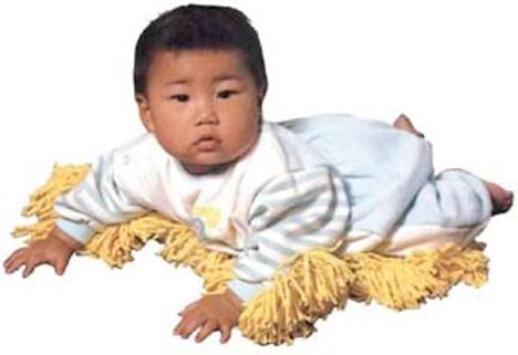 http://i2.wp.com/img.weburbanist.com/wp-content/uploads/2013/06/Chindogu-Baby-Mop.jpg?w=700