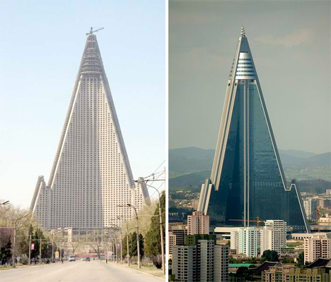 Ryugyong Hotel North Korea 1