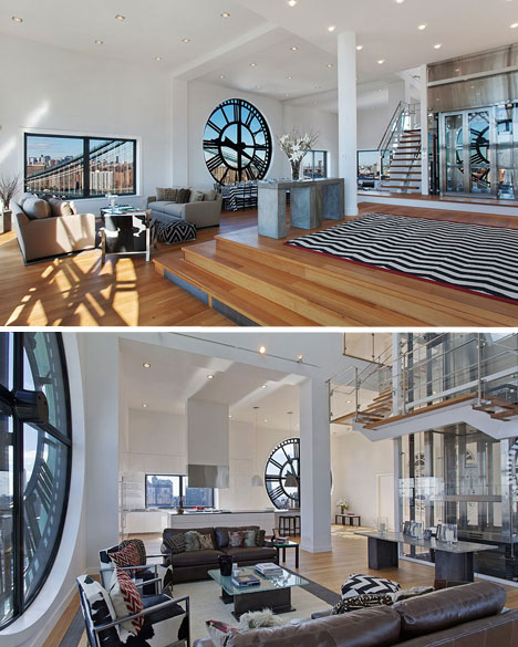 Converted CLocktower Penthouse 3