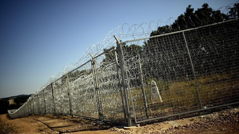 Dieser im Juli 2014 fertiggestellte Grenzzaun zwischen Bulgarien und der Türkei soll illegale Zuwanderer von der Einreise in die Europäische Union aufhalten