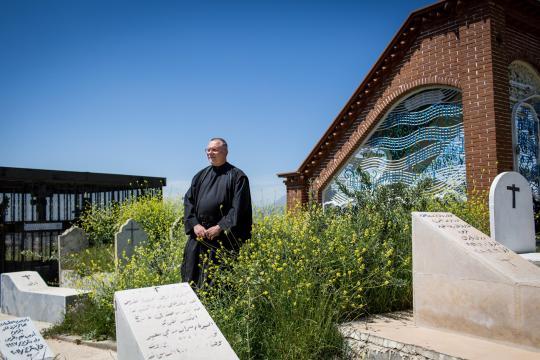 Pater Petzold gründete das Kloster der Jungfrau Maria, in dem er Flüchtlingen ein Zuhause gibt