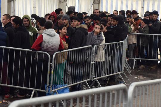 In der Landeserstaufnahmestelle Ellwangen kam es in den vergangenen Wochen häufig zu Auseinandersetzungen zwischen den Asylanten