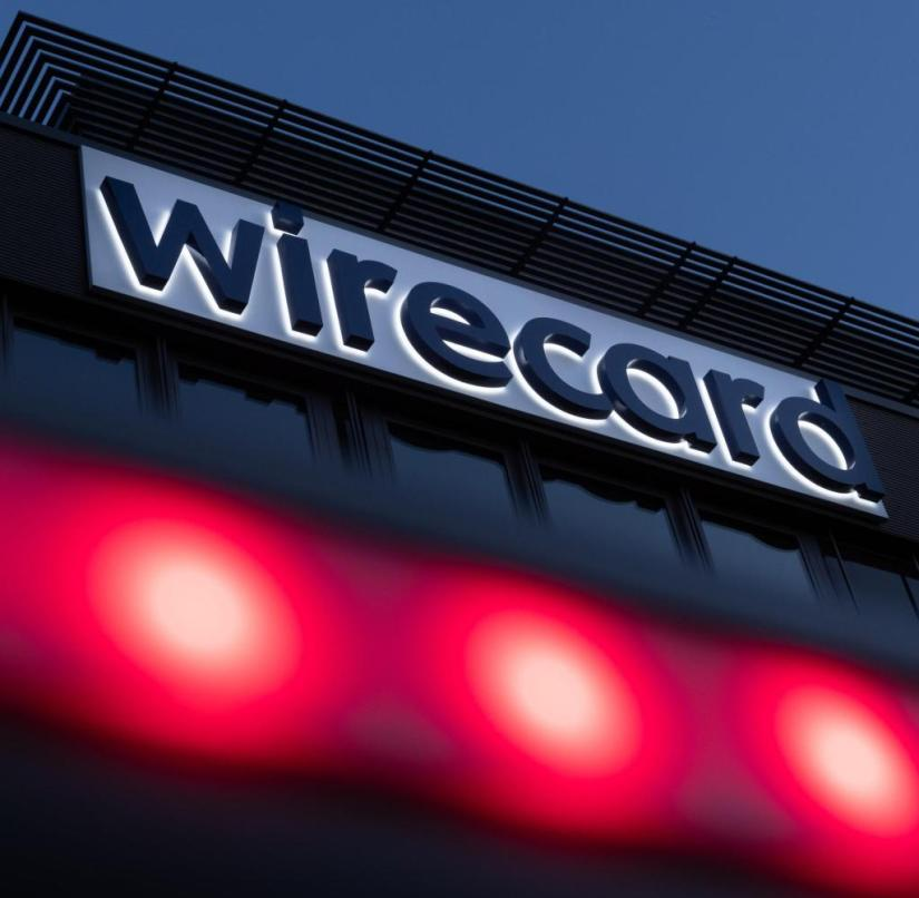 ARCHIVE - 07/20/2020, Bavaria, Aschheim: The Wirecard logo can be seen at the company headquarters of the payment service provider in Aschbeim near Munich.  (to dpa «Wirecard scandal will deal with the judiciary for years») Photo: Peter Kneffel / dpa +++ dpa-Bildfunk +++