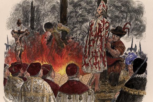 <br />Oft genug endeten die Verhandlungen vor der Inquisition mit einem Autodafé, einem Glaubensgericht. Dabei handelte es sich um einen Euphemismus für den Tod auf dem Scheiterhaufen.<br />