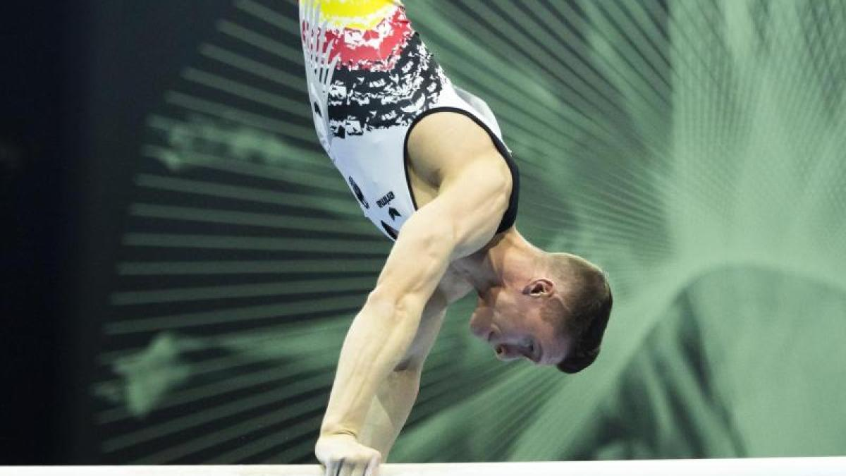 Lukas dauser is a german male artistic gymnast and a member of the national team. Lukas Dauser Dominates The Gymnastics Championship Qualification Teller Report