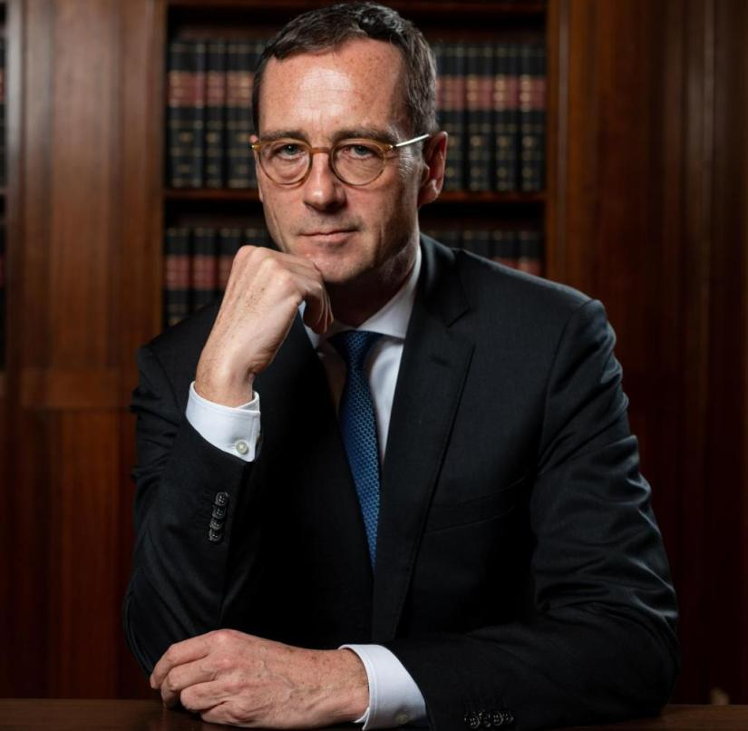 Words of warning about the debut: Marc Tully, new President of the Higher Regional Court