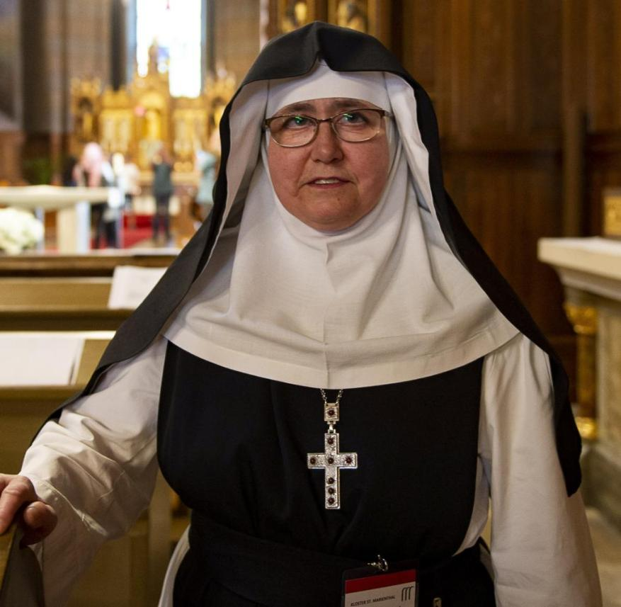 St. Marienthal in Saxony: led by Abbess Elisabeth Vaterodt, the Cistercian women follow the rules of St. Benedict, who saw the monastery as a place of encounter with God