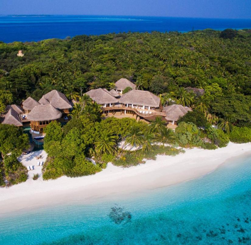 Maldives: On the hotel island