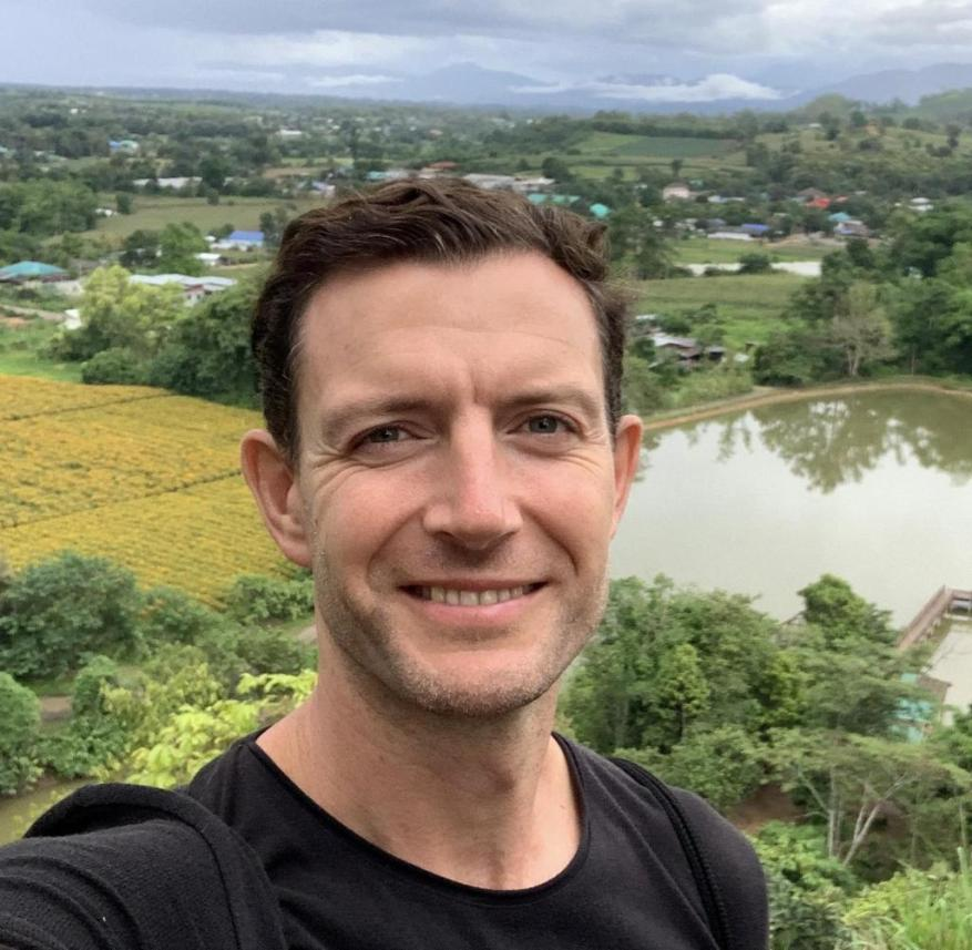 Stop on a world tour: Martin Lewicki in Mae Sot, Thailand