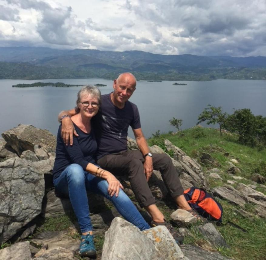 The retired Swiss couple Heidi and Werner Gloor have been on a world tour since February 2019
