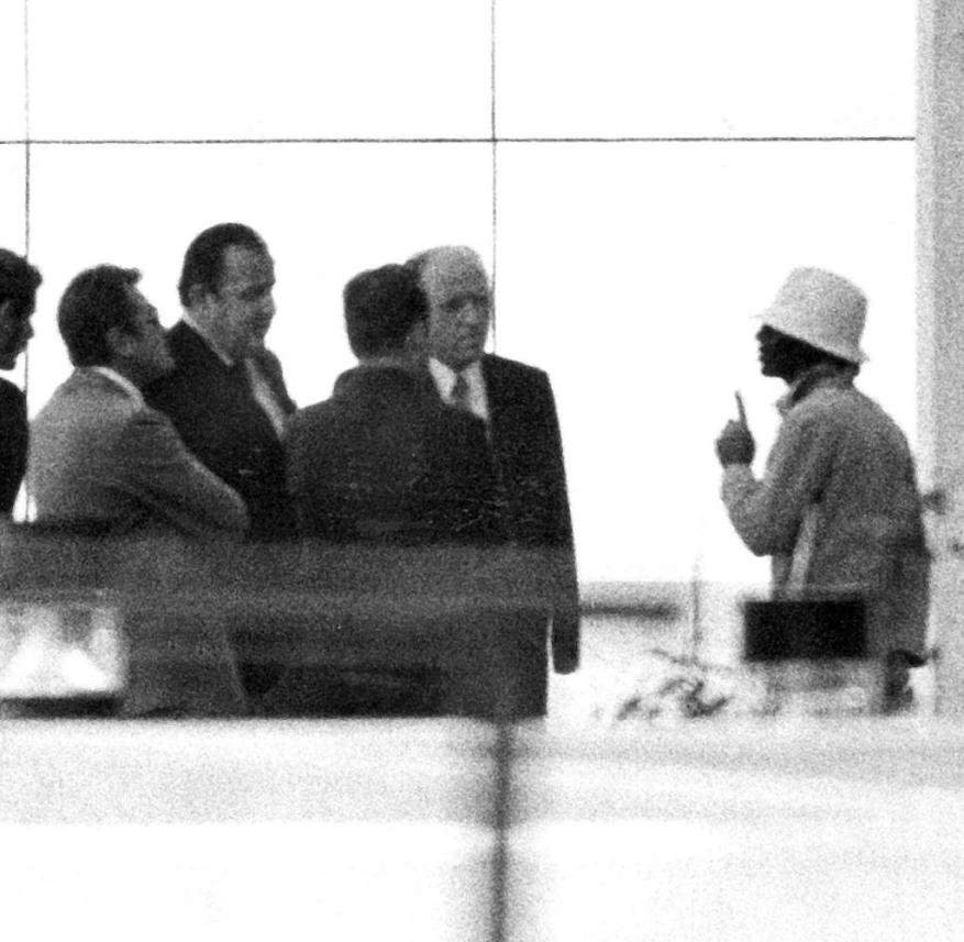 1972 Olympics Negotiation with a terrorist