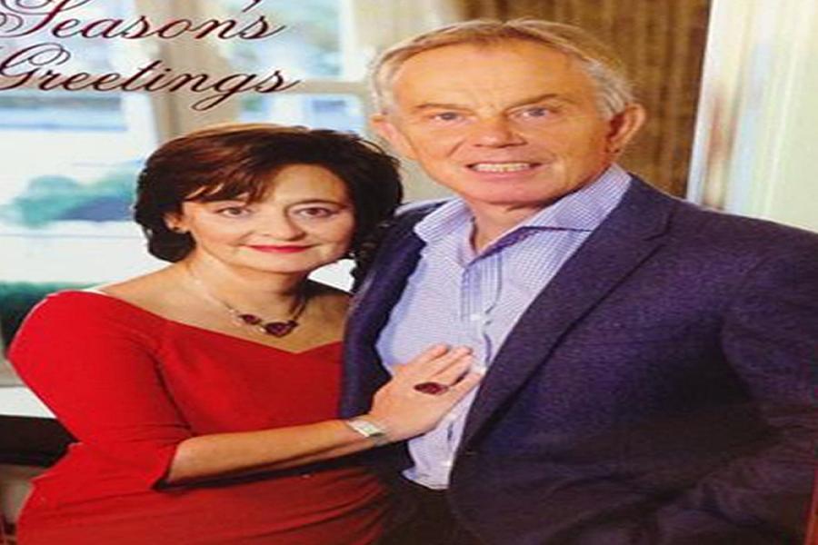 Viel Spott Fr Tony Blairs Portrt Im Internet DIE WELT