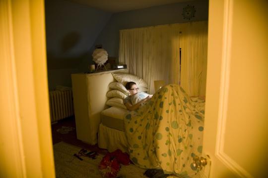 Manchen Jugendlichen kann man bei YouNow auch beim Schlafen zusehen