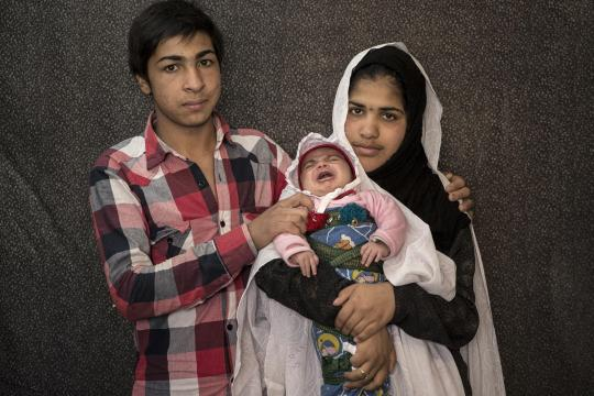 Vater, Mutter, Kind: Behzad, Zeinab und Baby Ali Asghar