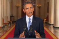 Fernsehansprache von US-Präsident Barack Obama