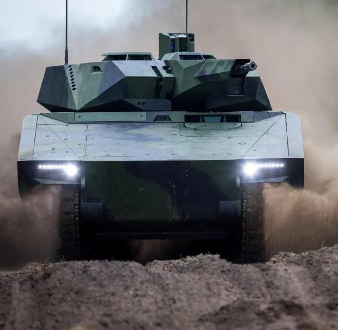 Rheinmetall infantry fighting vehicle Lynx KF41