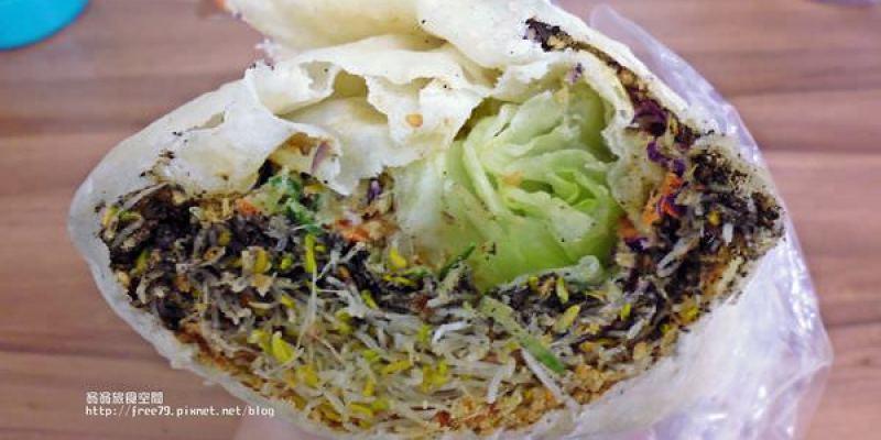 西湖捷運站低熱量、飽足感、輕食必選的蔬菜潤餅//德明科技大學