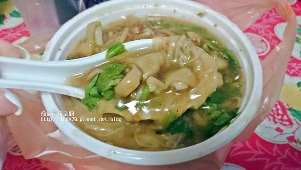 蘆洲小吃推薦|好吃的粉圓冰 還有好吃的大腸麵線,大腸很有嚼勁!