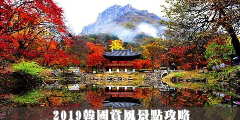 2019韓國賞楓景點攻略 楓葉、銀杏、紫芒通通有 超過20個賞風必看景點  交通資訊