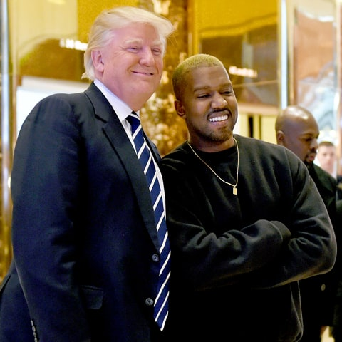 Image result for donald trump kanye meeting