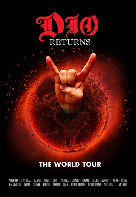 dio returns the world tour ronnie james dio