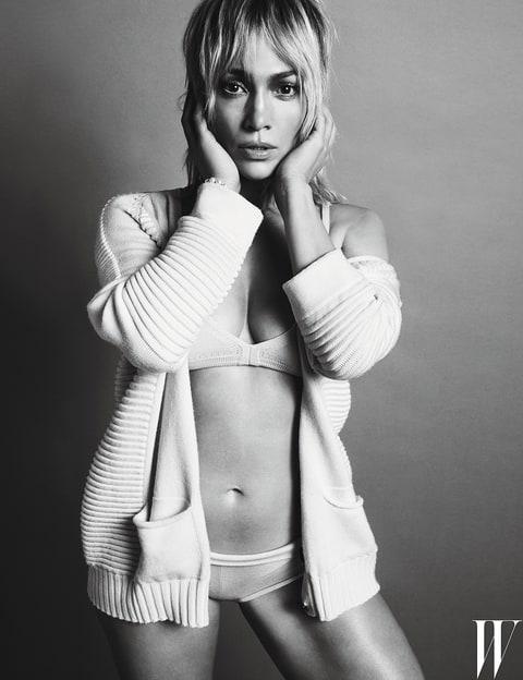 Jennifer Lopez in W Magazine