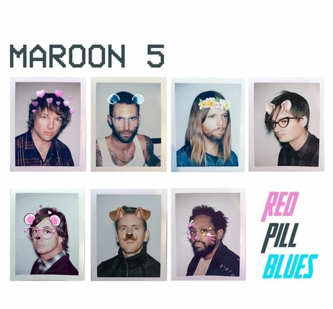 Image result for maroon 5 red blue pills