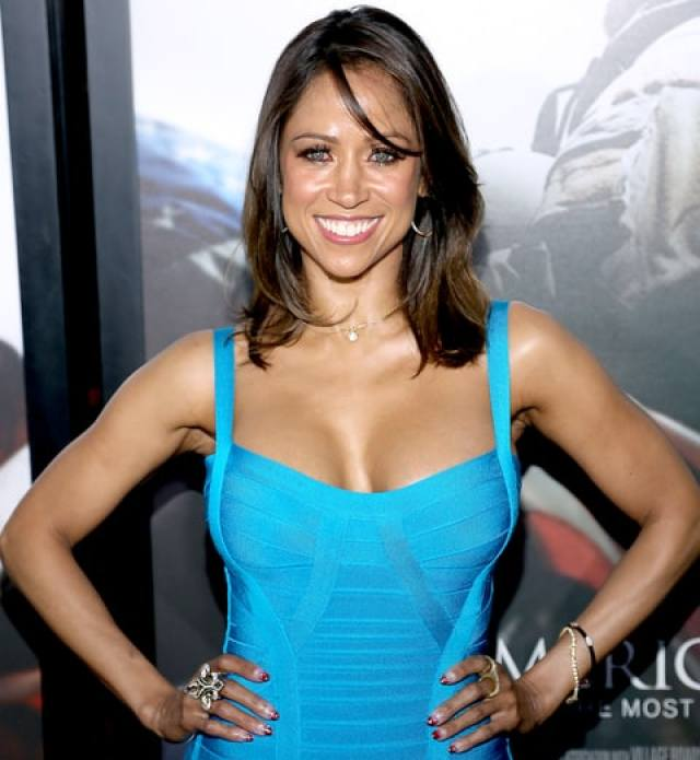 Stacey Dash arrives at the