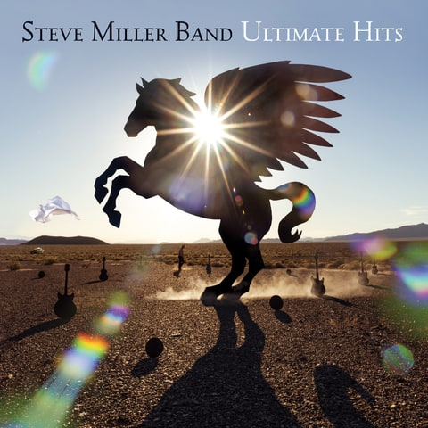 steve miller band ultimate hits album cover space cowboy