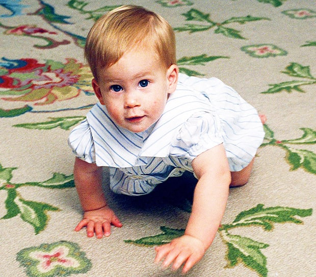Prince Harry | Royal Family Baby Photos | Us Weekly