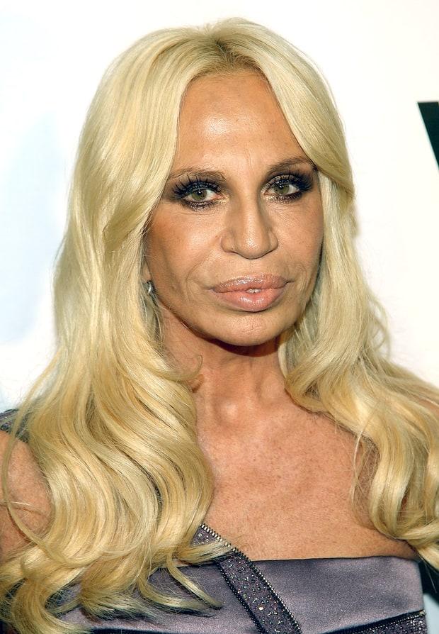 Donatella Versace Plastic Surgery Nightmares Us Weekly