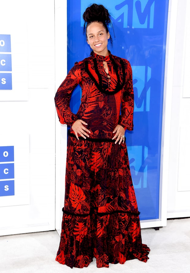 Image result for alicia keys vmas fashion 2016