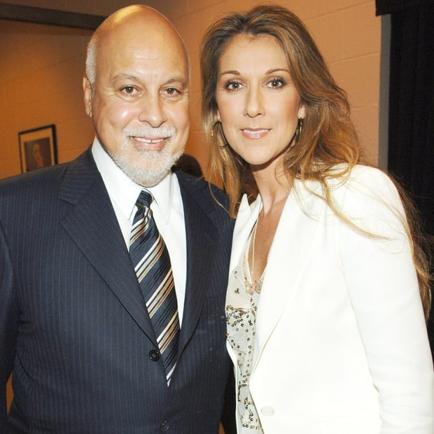 Rene Angelil and Celine Dion