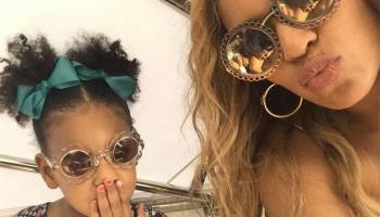 bdeec29ec MOMMY & ME STYLE STOPLIGHT: BEYONCE + BLUE IVY CARTER IN MATCHING FITS IS SO