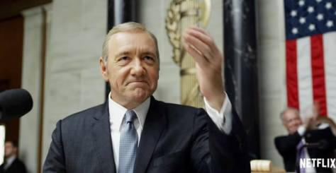 Kevin Spacey in House of Cards S4 op Netflix België