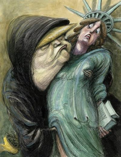 Illustration by Victor Juhasz. Rolling Stone.