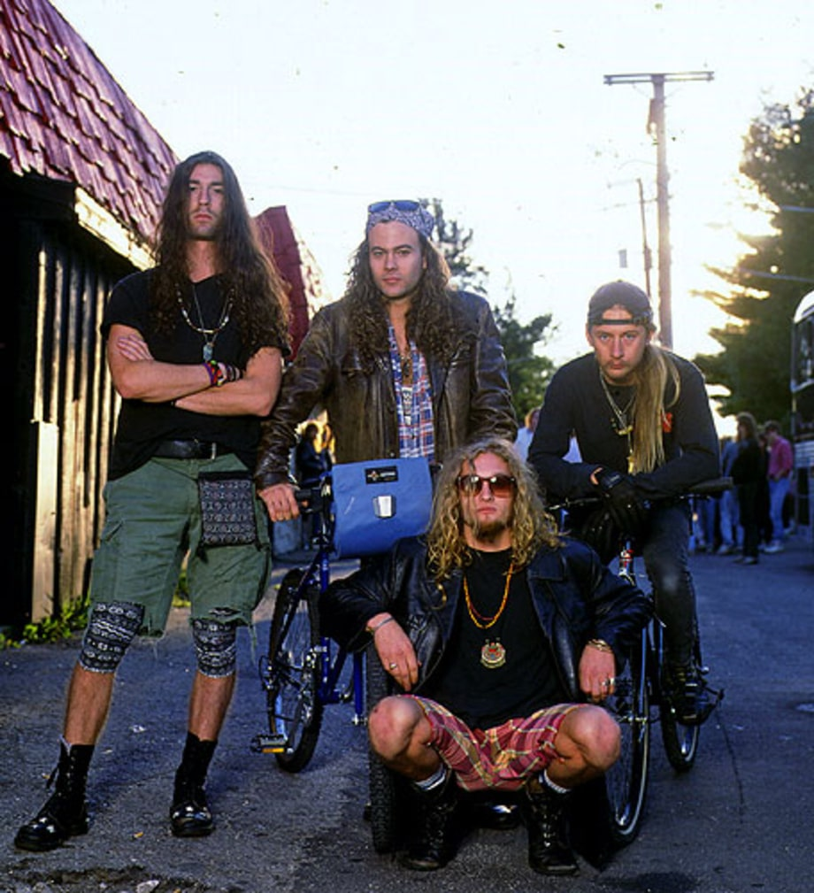 1990 Photos Alice In Chains In The Nineties Rolling Stone
