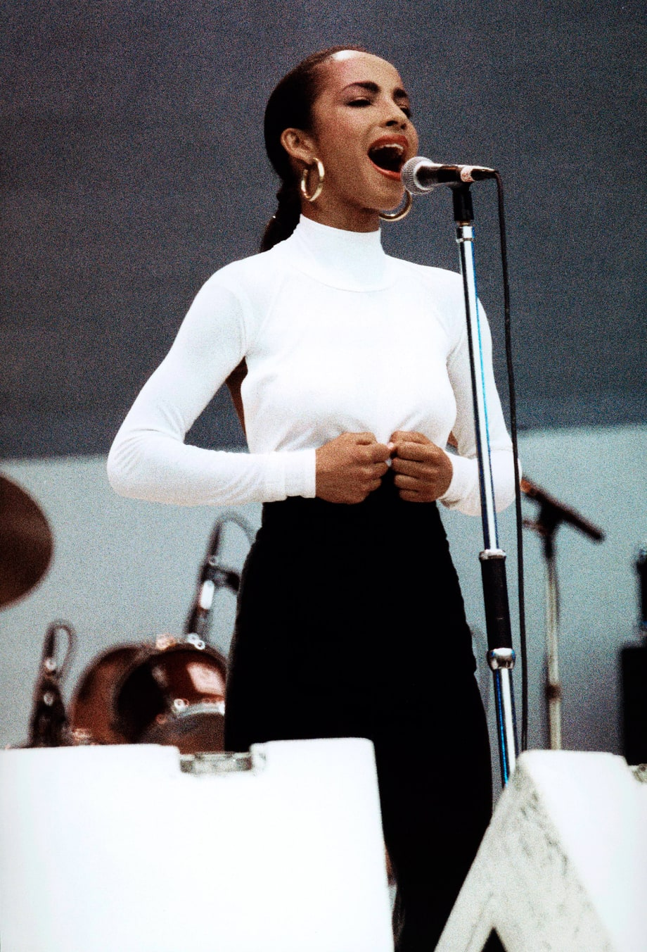 Live Aid 45 Years Of Music Festival Fashion From